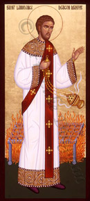 Icon of St. Lawrence